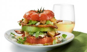 Beefsteak Tomato Tower